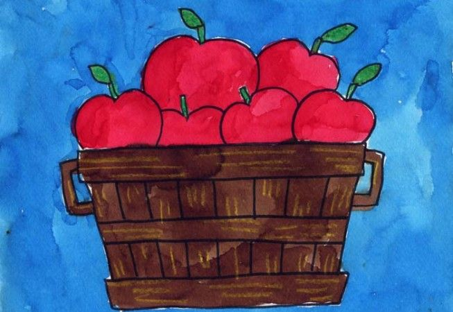 Apples | Art Projects for Kids