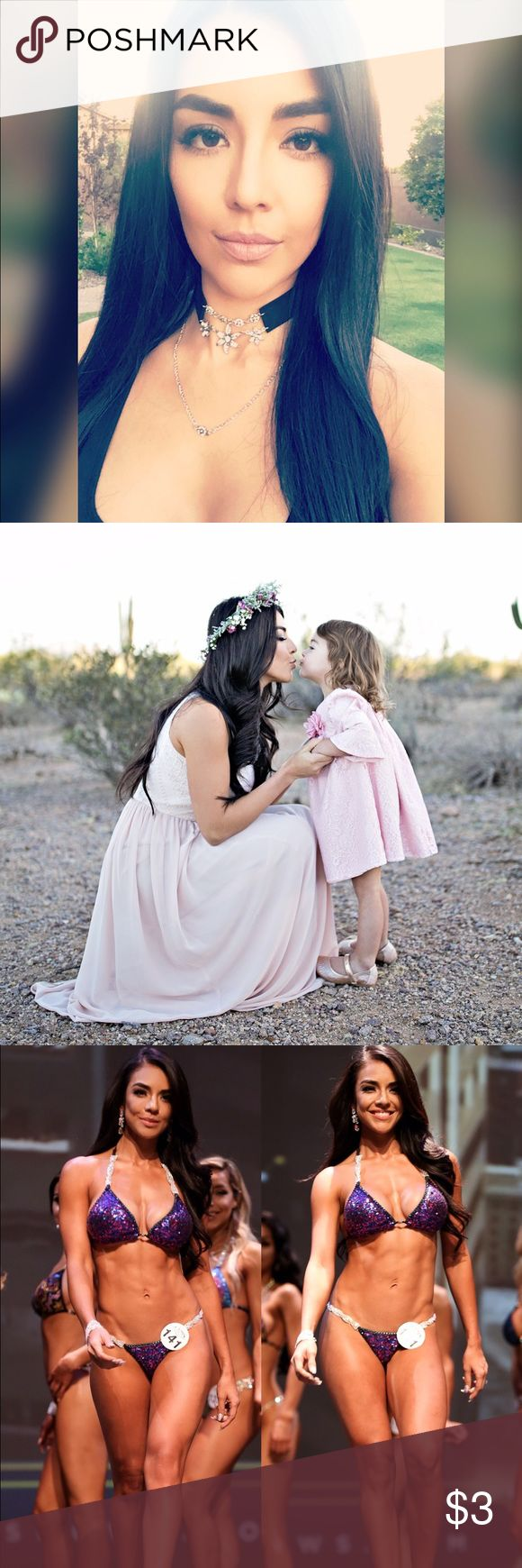 Meet your posher!! Hello! My name is Karla, I'm from Arizona. I have a 2 year old, 3 stepsons and a goldendoodle ☺ I'm a full time mom, own a promo model agency, like to stay fit and compete, I work for a few boutiques and love to shop. Most of the stuff I post is either new or worn once. Brands I love are lululemon, Gymshark, Nike, Urban Outfitters, Christian Louboutin, Givenchy, and many more 🙈 I love Posh,  it makes my life easier because I really don't like going shopping with a toddler…