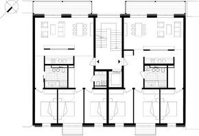 mehrfamilienhaus gletschersteinstr leipzig tiny house pinterest tiny houses condos and. Black Bedroom Furniture Sets. Home Design Ideas