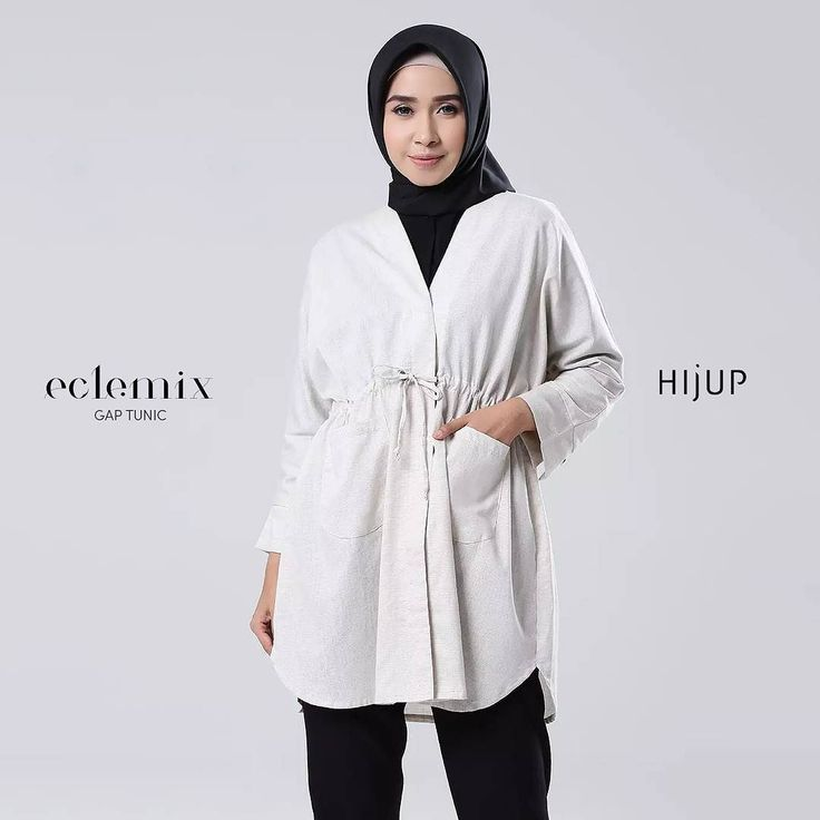 Assalamualaikum ladies.. . New arrival 2018 : GAP TUNIC . now also available at @hijup . Get 15% discount now at www.hijup.com . #sale #discount #hijup #myhijup  #hijab #fashion #beauty #top #tunic  #ootd #eclemix