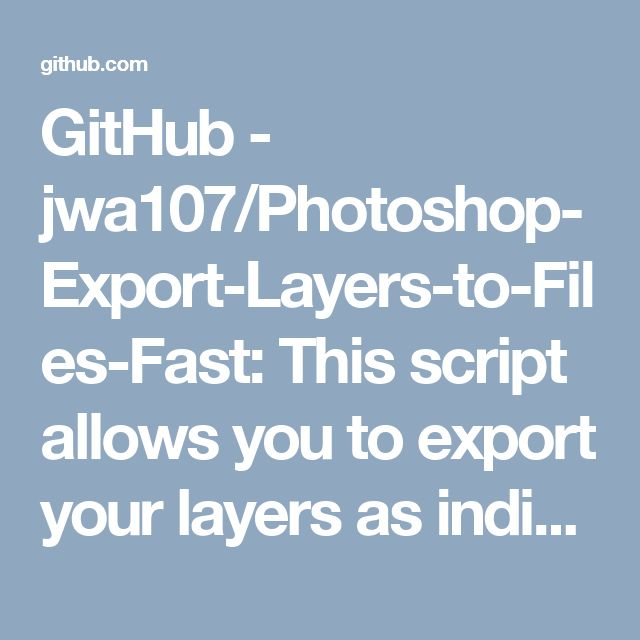 export photoshop layers to pdf