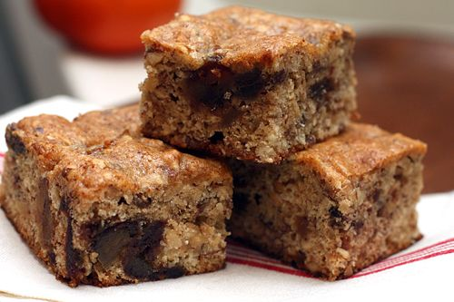 Date Bars | Recipe | Dates, Bar and David