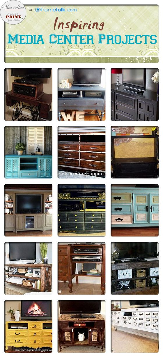 26 Unbelievable Media Center Projects | curated by 'Nana Moon' blog!