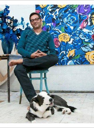 Reuben Paterson glitter paintings http://www.reubenpaterson.com/index.php