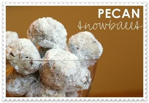 Pecan SnowballsPecans Snowball, Christmas Time, Cookies Monsters, Christmas Cookies, Snowball Cookies, Recipe Yummmmmm, Recipe Food Drinks, Sweets Stuff, Wedding Cookies