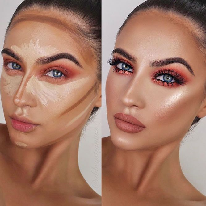 If you still do not know how to contour, then you have come to the right place. Apart from the visuals, we have something to tell you too, check it out! #makeup #makeuplover #makeupjunkie #contour