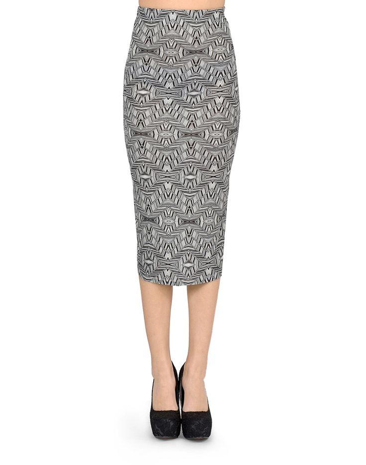 Hypnotic midi skirt - Clothing $22
