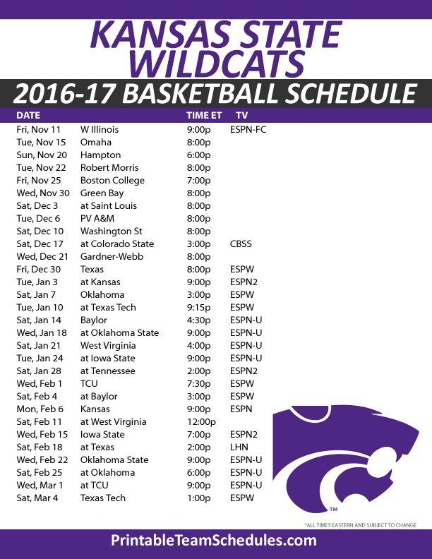 about Basketball Schedule on Pinterest | Vols basketball schedule ...