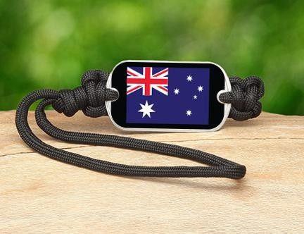 Gear Tag - Australian Flag