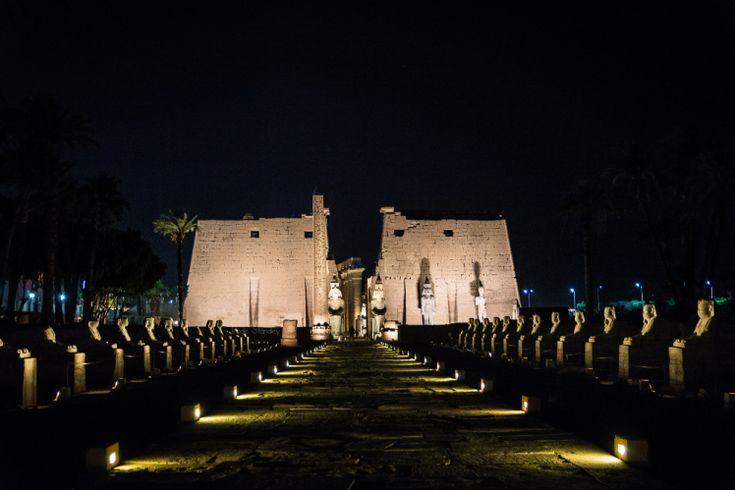 Temple de Louxor -Egypte