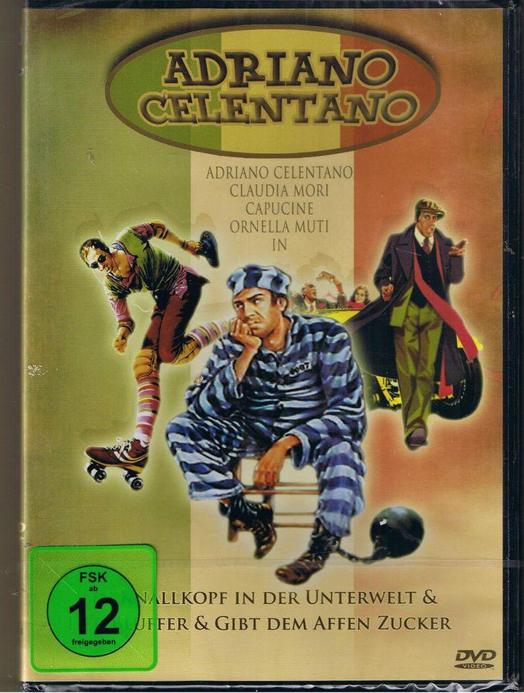 Adriano Celentano 6 - Der Bluffer+Gib den Affen Zucker+Ein Knallkop in der Unter