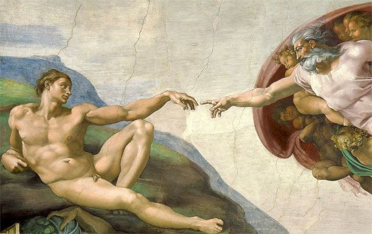 La creación (Capilla Sixtina, 1508–1512)
