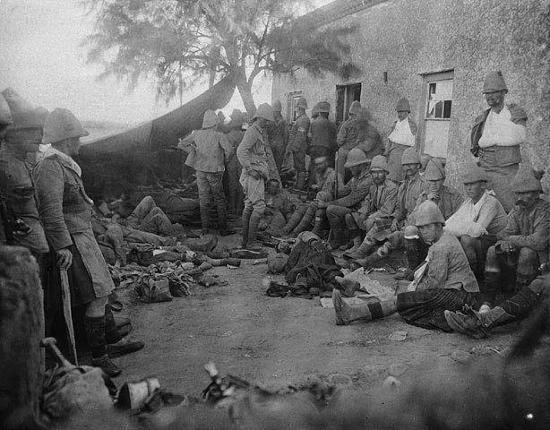 Field hospital at Paardeberg Drift. Feb 19, 1900. (Canada and the Boer War). #cdnhistory