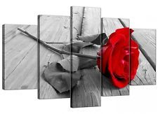UNSTRETCHED Canvas Print flower rose floral Picture Art Home Decor Wall picture
