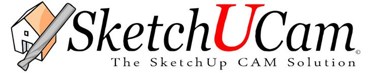 SketchUCam is free plugin written for the Google SketchUp cad program that allows the creation of Gcode to control your cnc machines and bring your SketchUp creations into the real world!