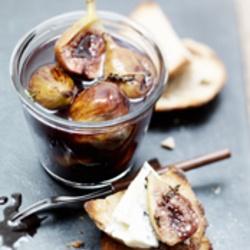 ZTRDG: Gestoofde honingvijgen met gorgonzola op toast