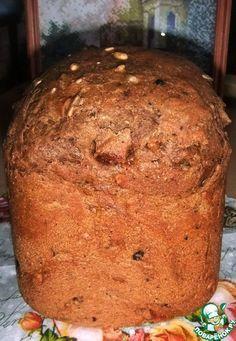 Ржаной хлеб с черносливом, курагой и орехами - кулинарный рецепт