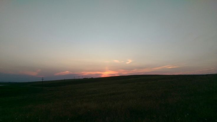 Vage foto van een zonnezuil, werd later nog duidelijker. Mijn eerste!