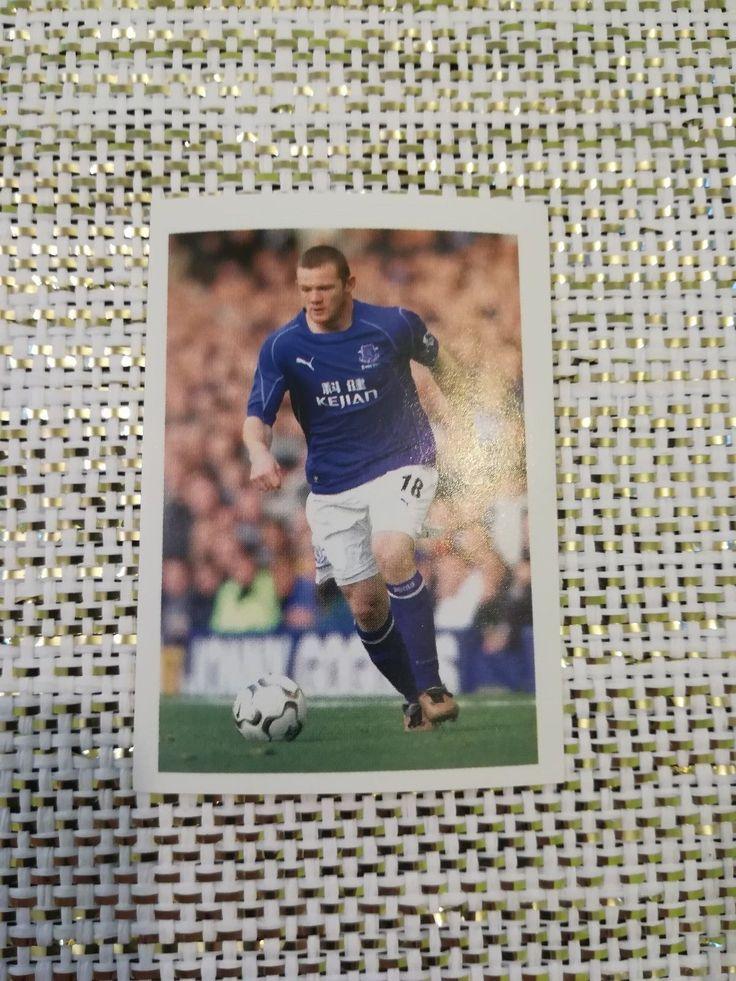 ROOKIE CARD #212 WAYNE ROONEY Total Football 2002 Luxor Everton FC Manchester | eBay
