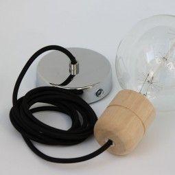 Pendant Set Wood hanglamp