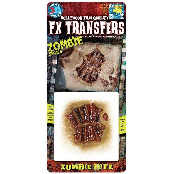 Tinsley Transfers - Zombie Series - Bite