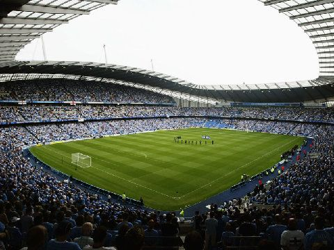 MAN CITY FC - CITY OF MANCHESTER STADIUM