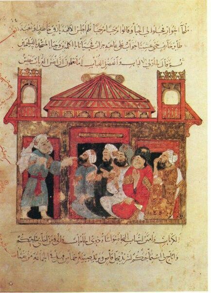 Al wasiti miniature - iraqi artist