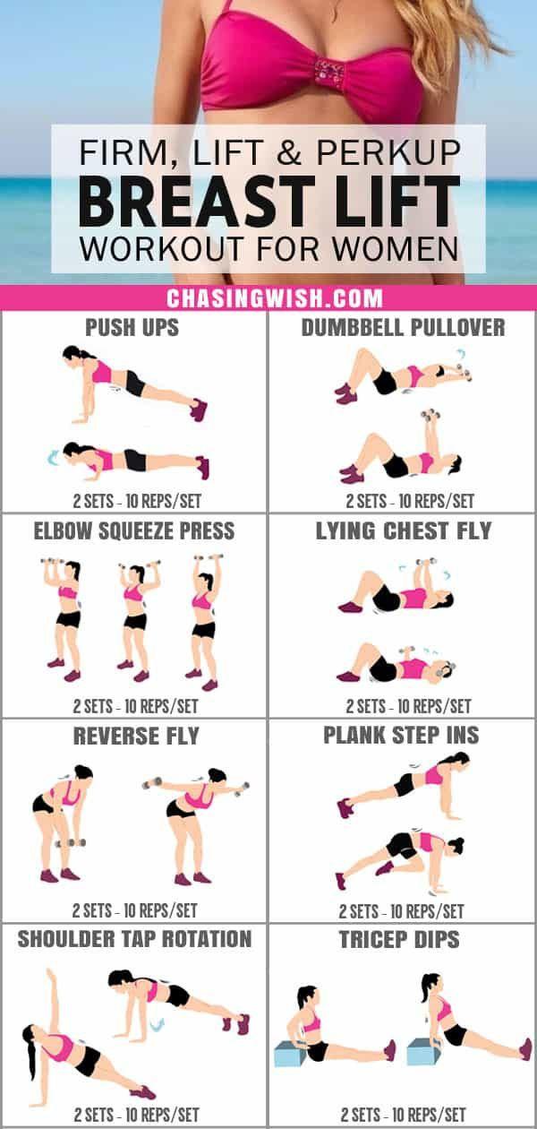 This Is The Best Breast Lift Workout For Women I Ve Ever Seen