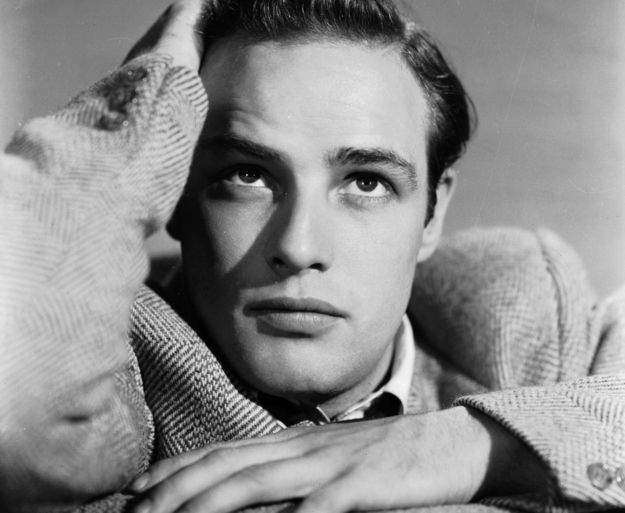 Marlon Brando was a perfect man before Ryan Gosling. Look at that perfect face.
