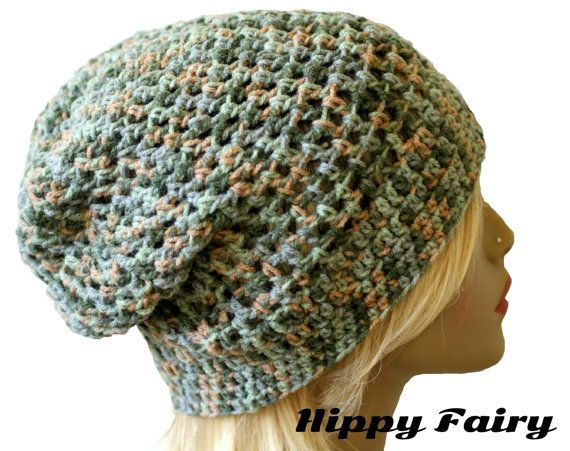 Crochet Hair Net : Summer beanie, mesh hat,crochet ,hair net