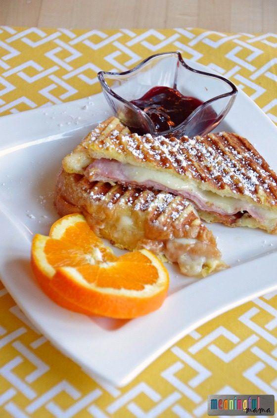Monte Cristo Panini Recipe - Great Breakfast Recipe - Kid Friendly