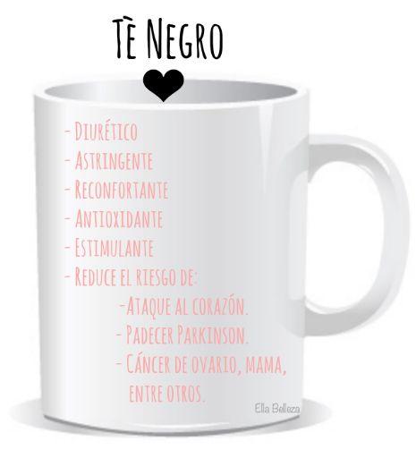 beneficios del te negro