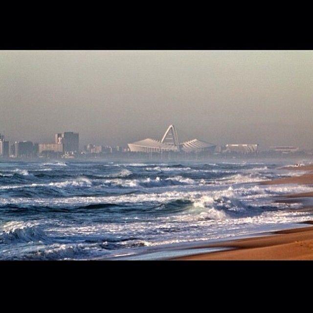 Image via @Michelle Gour taken from Umhlanga beach