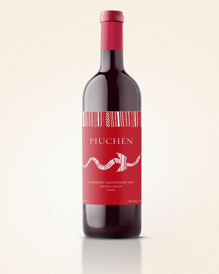 Etiqueta Vino Pichén