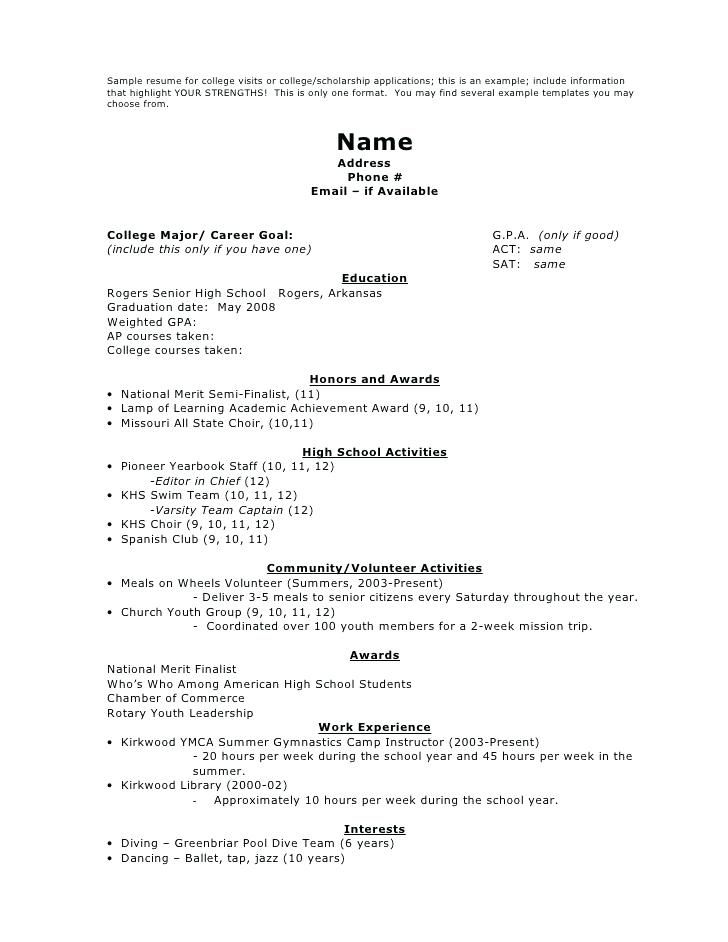 Resume Format 3 Years Experience Marketing Scholarships For