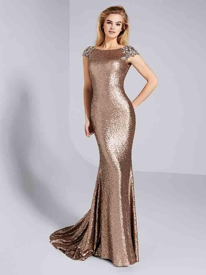 Item Type Evening Dresses Back Design Zipper Silhouette Mermaid Built-in  Bra Yes Decoration Sequins e978aa908088