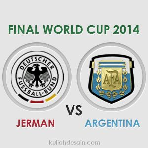 Gambar Animasi Final Piala Dunia 2014