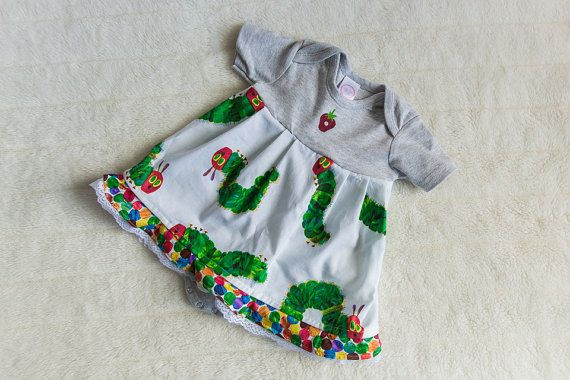The Very Hungry Caterpillar Dress by BellaBeeB on Etsy