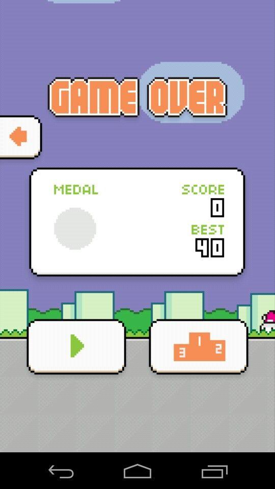 My last high score