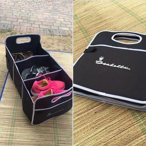 De #handige organizer van #Isabella! Perfect om kleine spullen op te bergen tijdens het #kamperen. Het kan daarnaast ook in huis gebruikt worden voor het opbergen van speelgoed, tijdschriften en andere losse items.   #camping #wonen #opbergmogelijkheid #opvouwbaar #opruimen #reizen #interieur #voortent #organizer