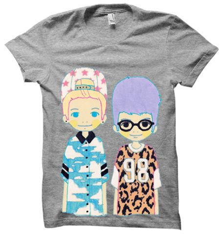 OMG: Faces Tee – Sup3rfruit * Get me this and I will love you forever