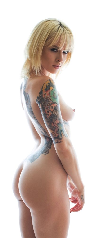 nude naked tattooed girls