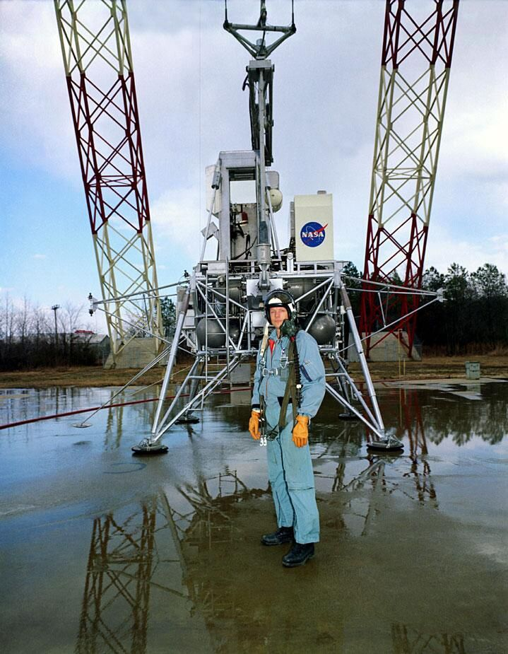 via @Jason Stocks-Young Major : Neil Armstrong photographed at @NASA_Langley in February 1969 (NASA)