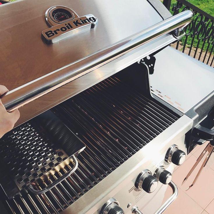 U nas piękny dzień doskonały na rozpoczęcie grillowania jeszcze przed majówka #majowka #grill #grilgazowy #broilkingPL