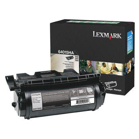 Lexmark, LEX64015HA, 64015HA Toner Cartridge, 1 Each