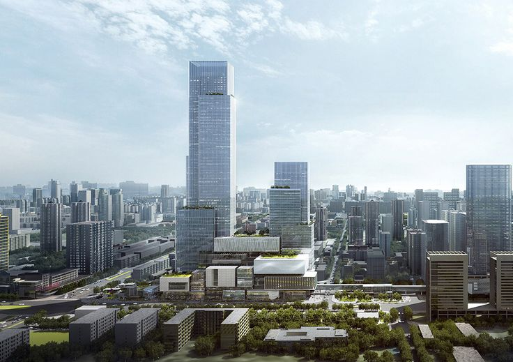 EID Architecture Redefines High Density Mixed Use Development in Xi'an,© EID Architecture