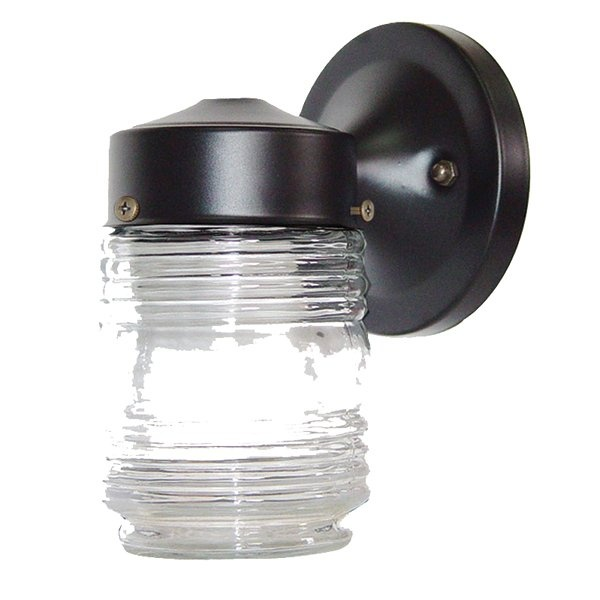 acclaim lighting 100 builders choice jelly jar outdoor sconce