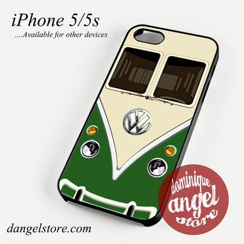 green vw retro bus Phone case for iPhone 4/4s/5/5c/5s/6/6 plus