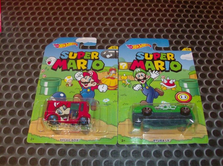 Hot Wheels Lot of 2 Super Mario & Luigi | Toys & Hobbies, Diecast & Toy Vehicles, Cars, Trucks & Vans | eBay!