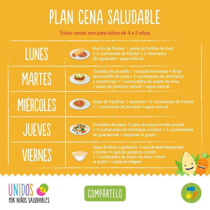 Plan refrigerio saludable comida saludable para beb s y - Ideas para una cena saludable ...